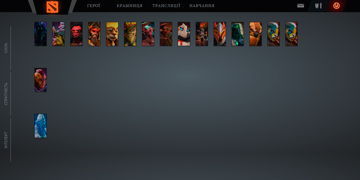 heroes page screenshot